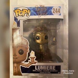 Beauty and the Beast Lumiere Funko POP #244
